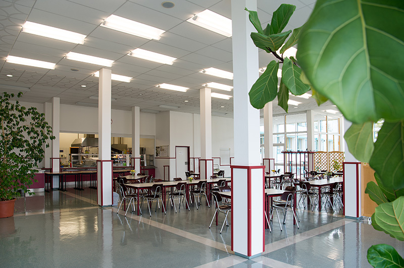 Mensa und Cafeteria Internat Meiningen